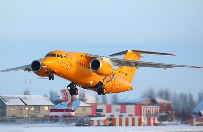 «Саратовские авиалинии» снова стали использовать самолеты Ан-148