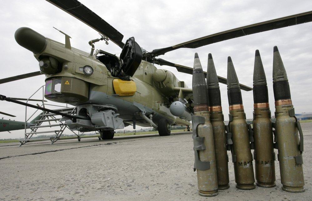 Ми-28НЭ научили управлять ударными беспилотниками