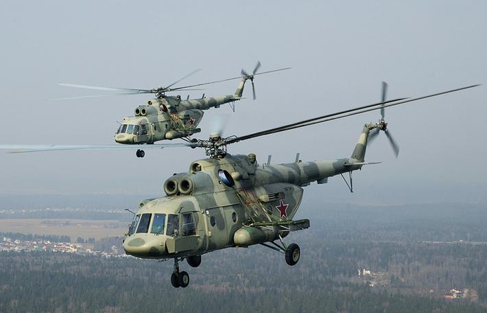 Казанский вертолетный завод досрочно поставил военным 130 Ми-8МТВ-5-1