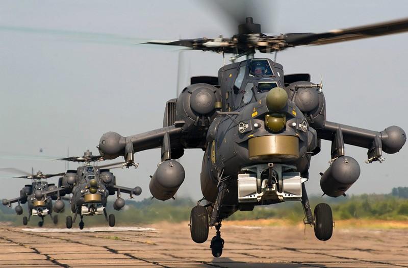 В 2020 году армия России получит шесть сверхсовременных вертолетов