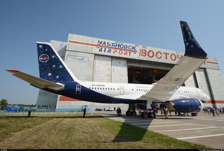 Центр подготовки космонавтов в ближайшее время получит первый из двух Ту-204-300