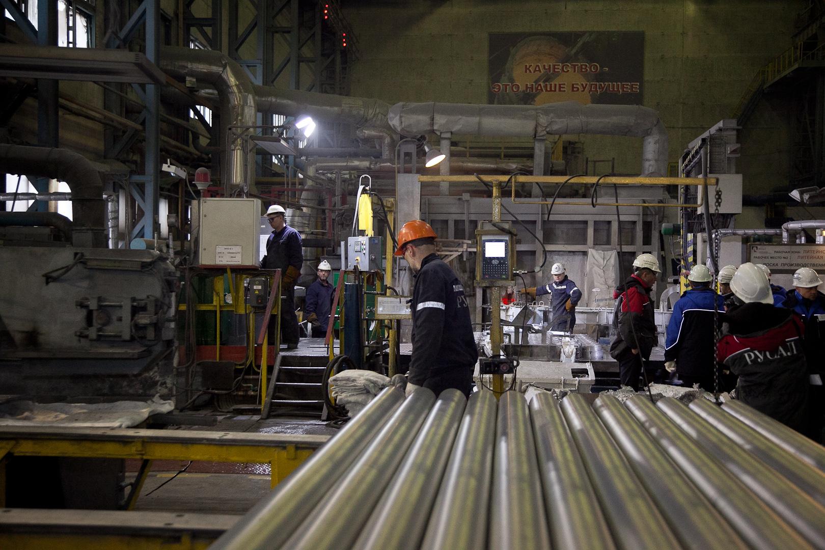 Запуск нового алюминиевого производства в Волгоградской области создаст порядка 2 тысяч новых рабочих мест