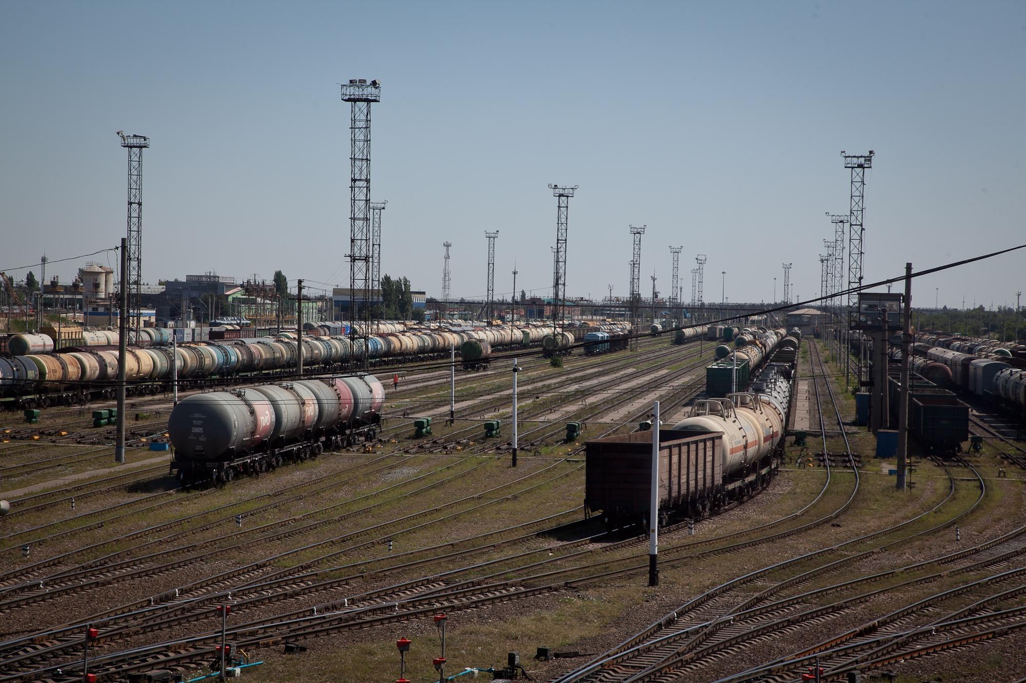 В Волгоградском регионе растет объем железнодорожных перевозок