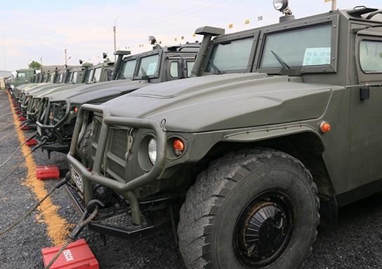 Спецназ ЮВО получил бронеавтомобили «Тигр-М» с новейшим боевым модулем дистанционного управления