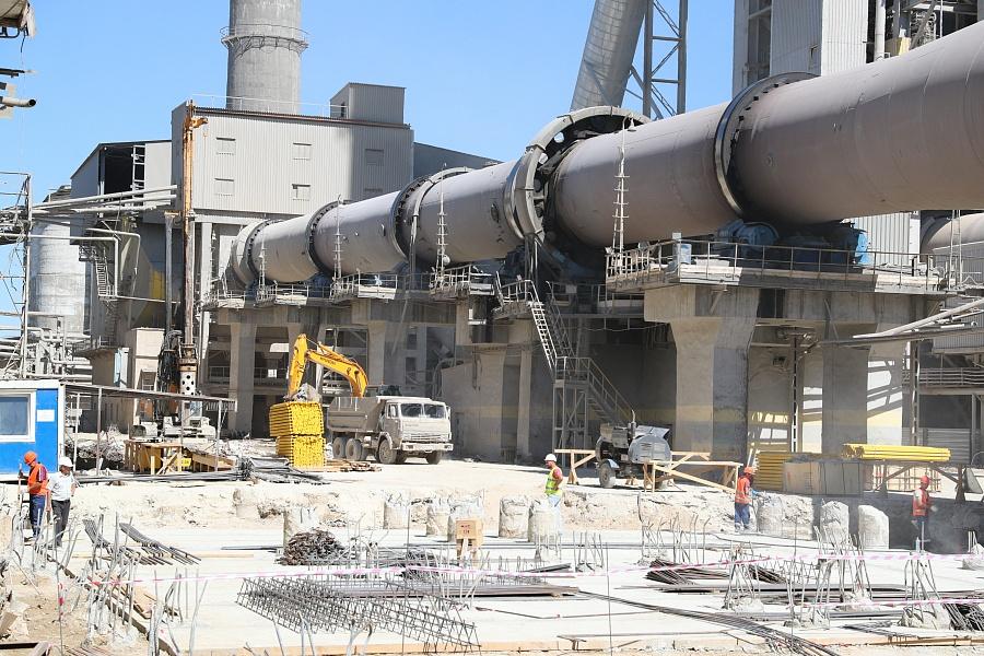Стоимость проекта реконструкции завода «Себряковцемент» в Волгоградской области порядка шести миллиардов рублей