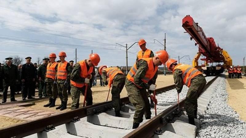 В Волгограде встретили железнодорожников которые вернулись после строительства ветки Журавка – Миллерово