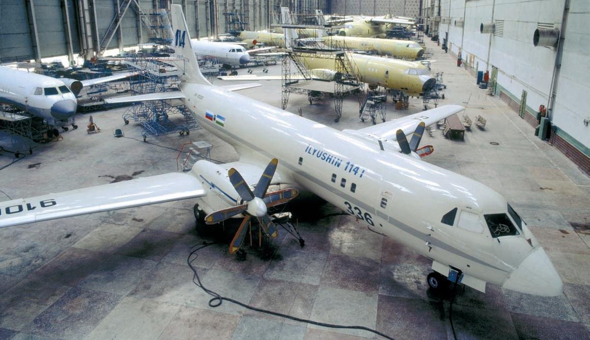 ВАСО будет производить ключевые агрегаты Ил-114
