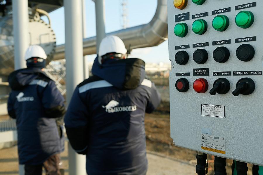 В Волгоградской области открылось новое производство по добыче и транспортировке природного газа