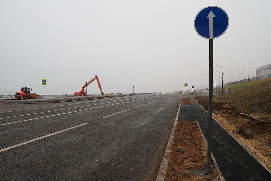 Рокадная дорога в Волгограде будет сдана до конца года