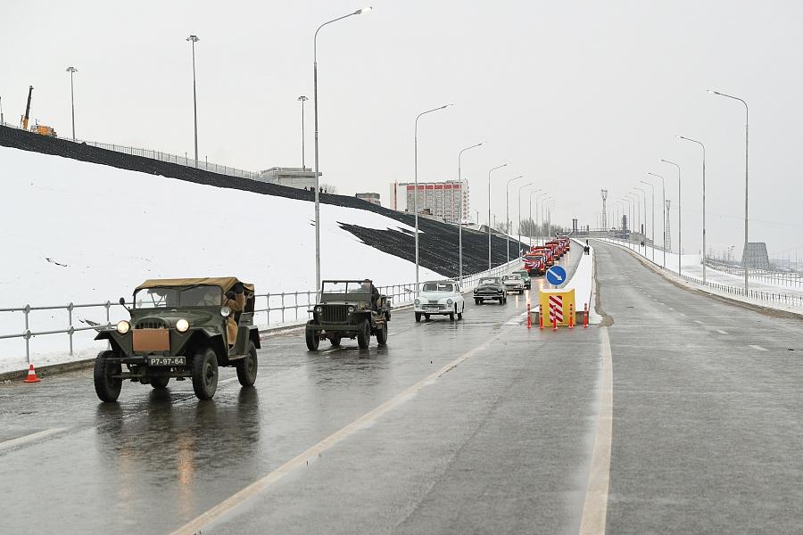 В Волгограде открыта Нулевая продольная магистраль