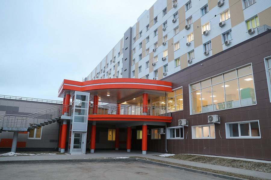 Завершено строительство нового диагностического комплекса клинической больницы №25 Волгограда
