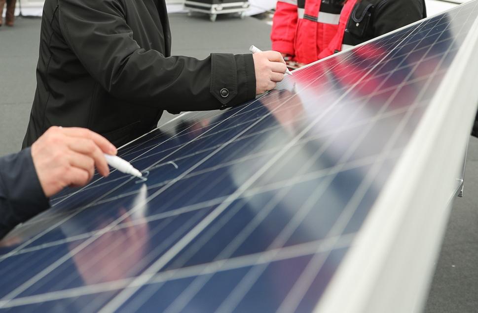 В Волгоградской области запущена первая солнечная электростанция