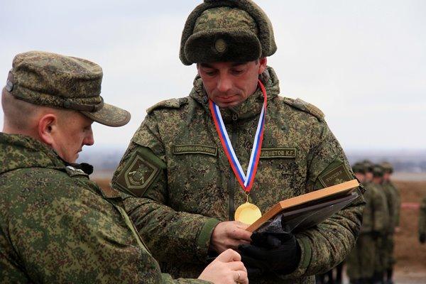 На полигоне Прудбой под Волгоградом завершился окружной этап «Армейских игр-2018»