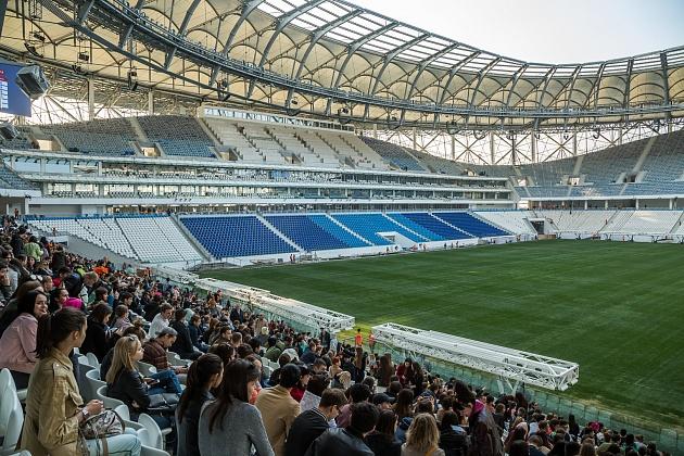 На новой «Волгоград Арене» состоится тестовый матч «Ротор-Волгоград» - «Луч-Энергия»