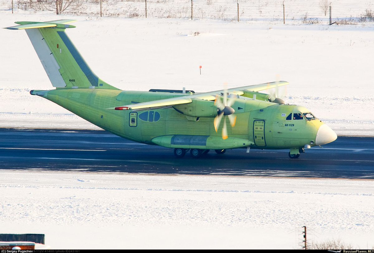 Первый полет нового военного транспортника Ил-112В запланирован на 30 марта